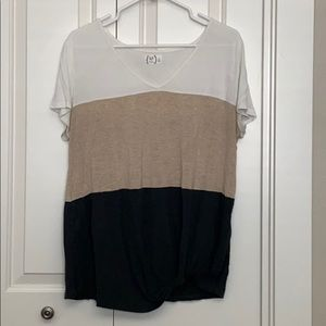 MAURICES SOFT JERSEY TOP